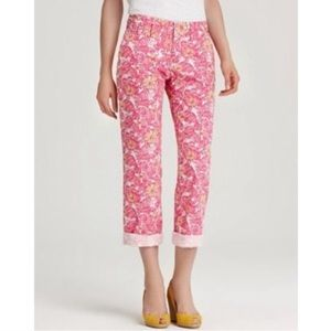 Lilly Pulitzer Whitney pants in chum bucket